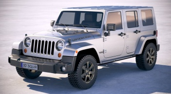 car rental st martin : jeep wrangler golden eagle 2017