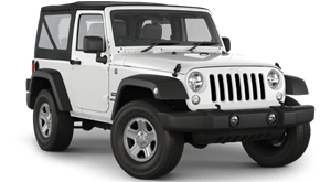 car rental st maarten : jeep wrangler